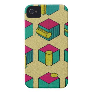 Cube and Cylinder Study iPhone 4 Case-Mate Cases