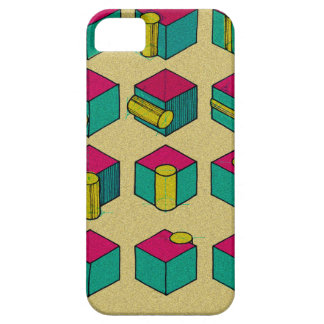 Cube and Cylinder Study iPhone 5 Covers