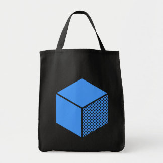 Cube - Baby Blue Tote Bag