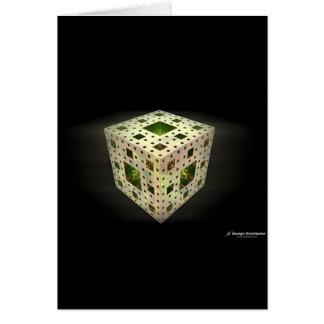 Cube  card