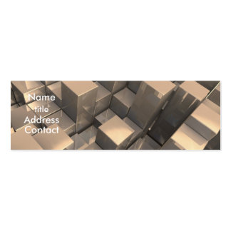 Cube Design Business Card Template