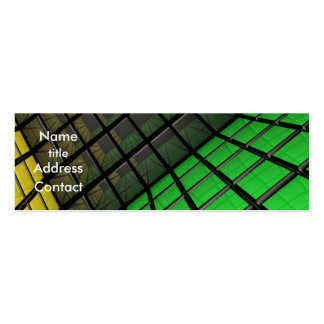 Cube Design - Profile Card Business Card Template