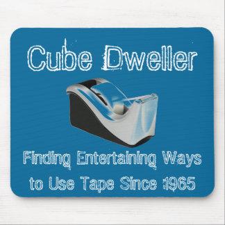 Cube Dweller Mousepad (Blue)