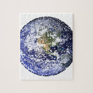 cube earth jigsaw puzzle