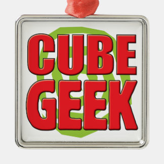 Cube Geek Christmas Ornaments