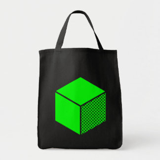 Cube - Green Tote Bag