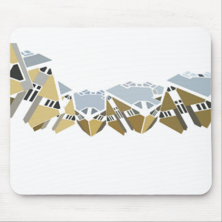 Cube House Mouse Pad