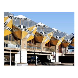 Cube houses, Rotterdam Blaak Postcard
