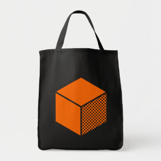 Cube - Orange Tote Bag