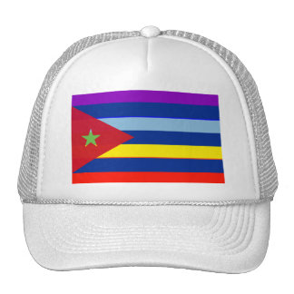 Cube Peace flag Trucker Hat
