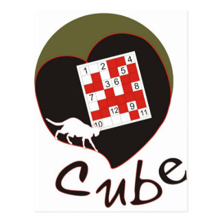 Cube Postcard