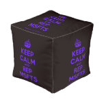 [Crown] keep calm and rep msfts  Cube Pouf