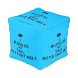 [Two hearts] i #love b5 hot tall boys that melt  Cube Pouf