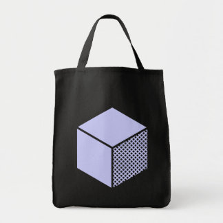 Cube - Powder Blue Tote Bag