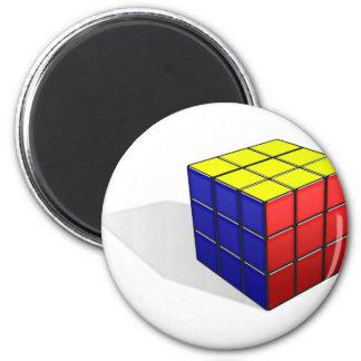 Cube Puzzle Magnet