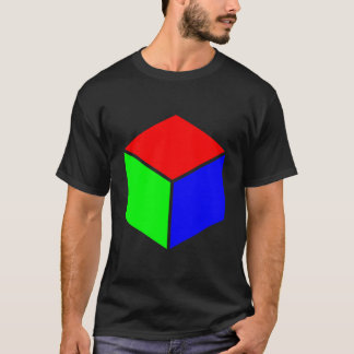 Cube - Red, Green and Blue T-Shirt