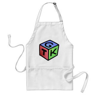 Cube Red Green Fash Adult Apron