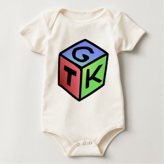 Cube Red Green Fash Baby Bodysuit