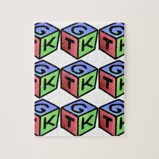 Cube Red Green Fash Puzzles