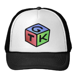 Cube Red Green Fash Trucker Hat