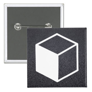 Cube Sideviews Pictogram 2 Inch Square Button