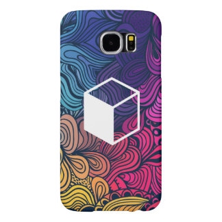 Cube Sideviews Pictogram Samsung Galaxy S6 Cases