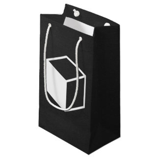 Cube Sideviews Pictogram Small Gift Bag