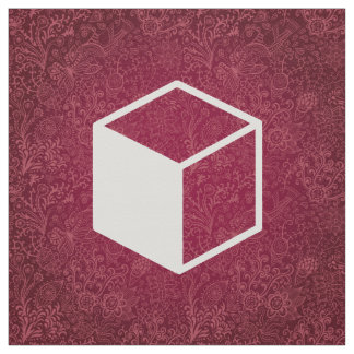 Cube Sideviews Pictogram Fabric