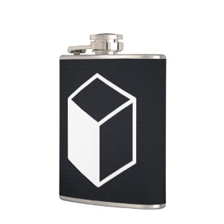 Cube Sideviews Pictogram Flask