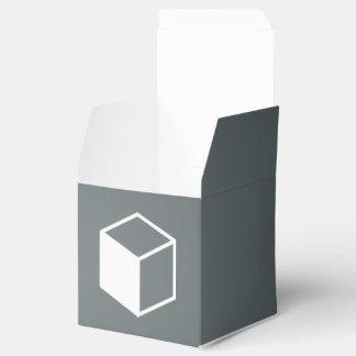 Cube Sideviews Pictogram Favor Box