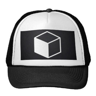 Cube Sideviews Pictogram Trucker Hat