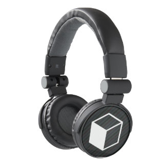 Cube Sideviews Pictogram Headphones