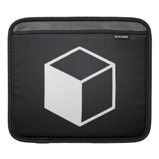 Cube Sideviews Pictogram Sleeve For iPads