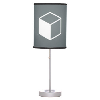 Cube Sideviews Pictogram Table Lamps