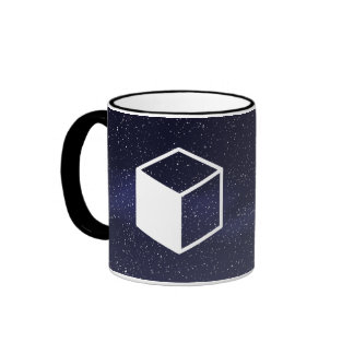 Cube Sideviews Pictogram Ringer Coffee Mug