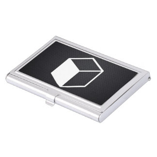 Cube Sideviews Pictogram Case For Business Cards