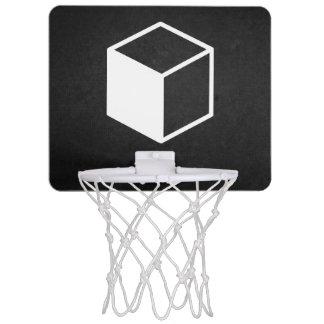 Cube Sideviews Pictogram Mini Basketball Backboard