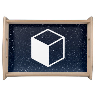 Cube Sideviews Pictogram Service Tray