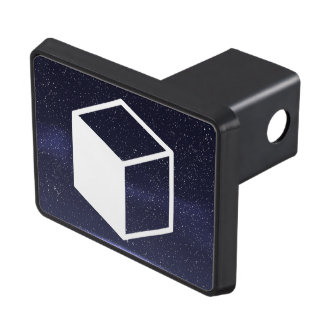 Cube Sideviews Pictogram Hitch Cover