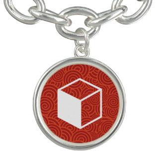 Cube Sideviews Pictogram Bracelets