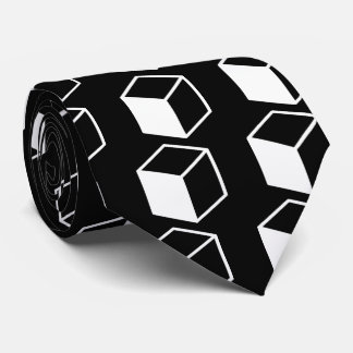 Cube Sideviews Pictogram Tie
