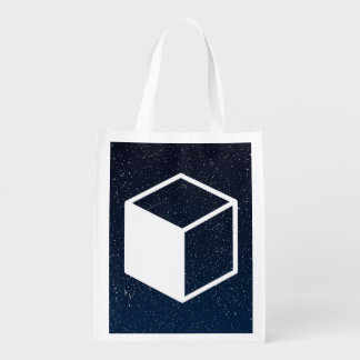 Cube Sideviews Pictogram Grocery Bags