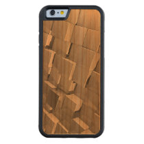 Cube Wood Iphone case