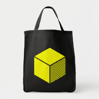 Cube - Yellow Tote Bag