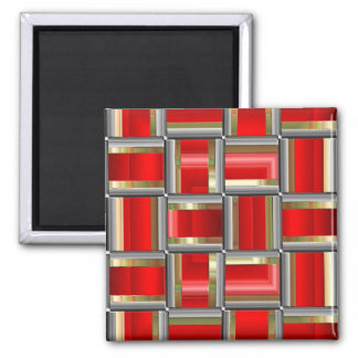 Cubed 2 Inch Square Magnet