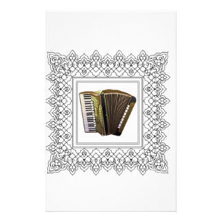 cubed accordion stationery