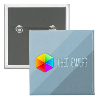 Cubed Gamers Square Pin Badge