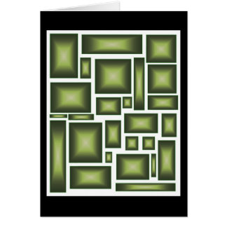 Cubed Green Card