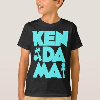 Cubed Kendama 2, blue2 T-Shirt