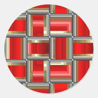 Cubed Classic Round Sticker